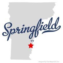 springfield vt map