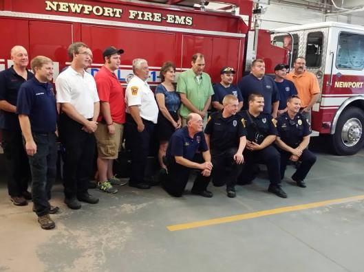 Newport Fire and EMS