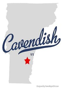 cavendish vt map