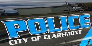 Claremont Police car