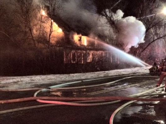 Hanover St. Extention fire 1