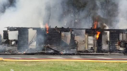 ascutney fire flames